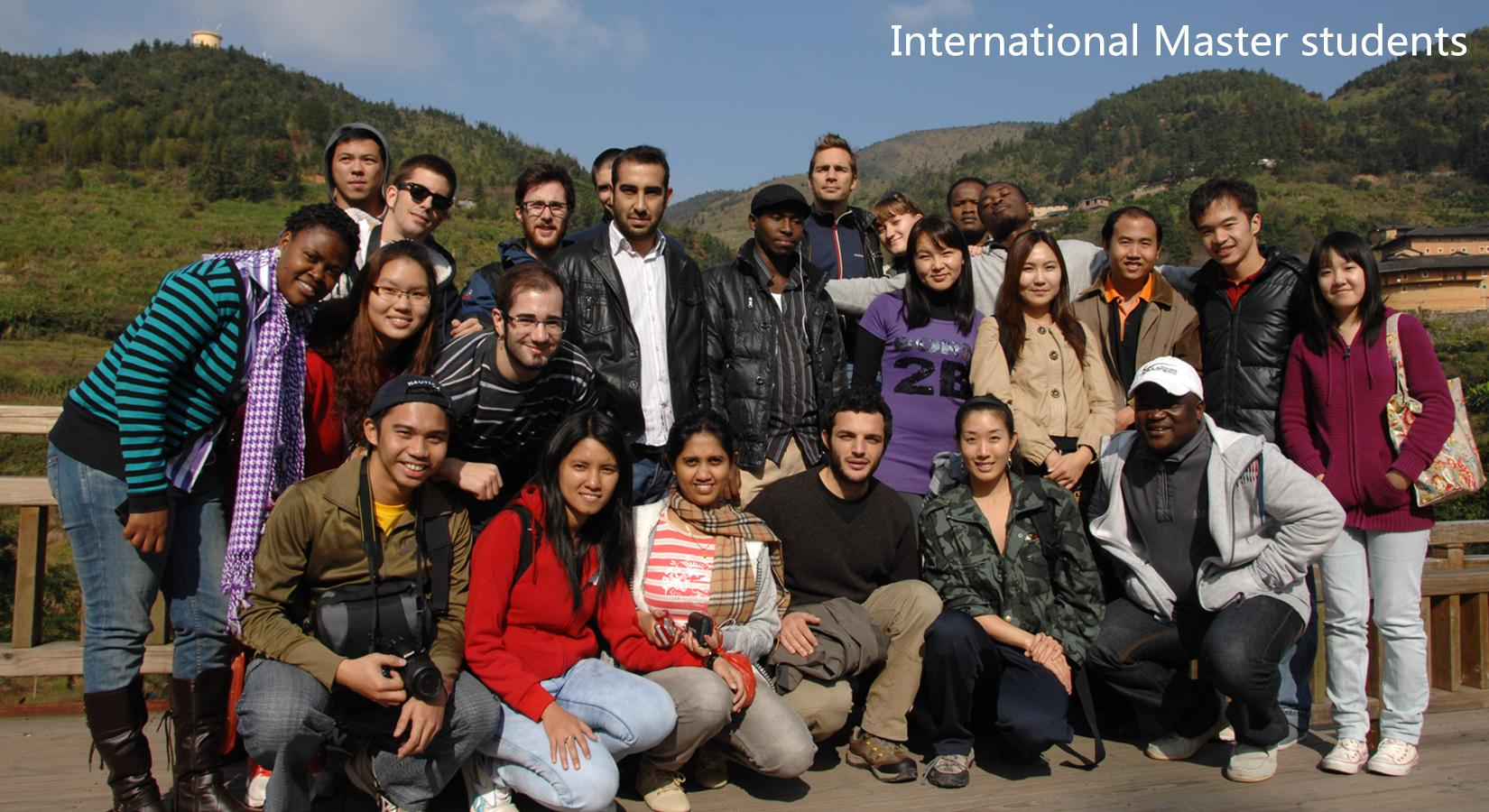 International Master students